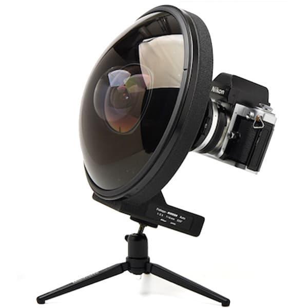 Nikon 6mm fisheye lens - ExposureWorks DSLR photography wide angle lens primer