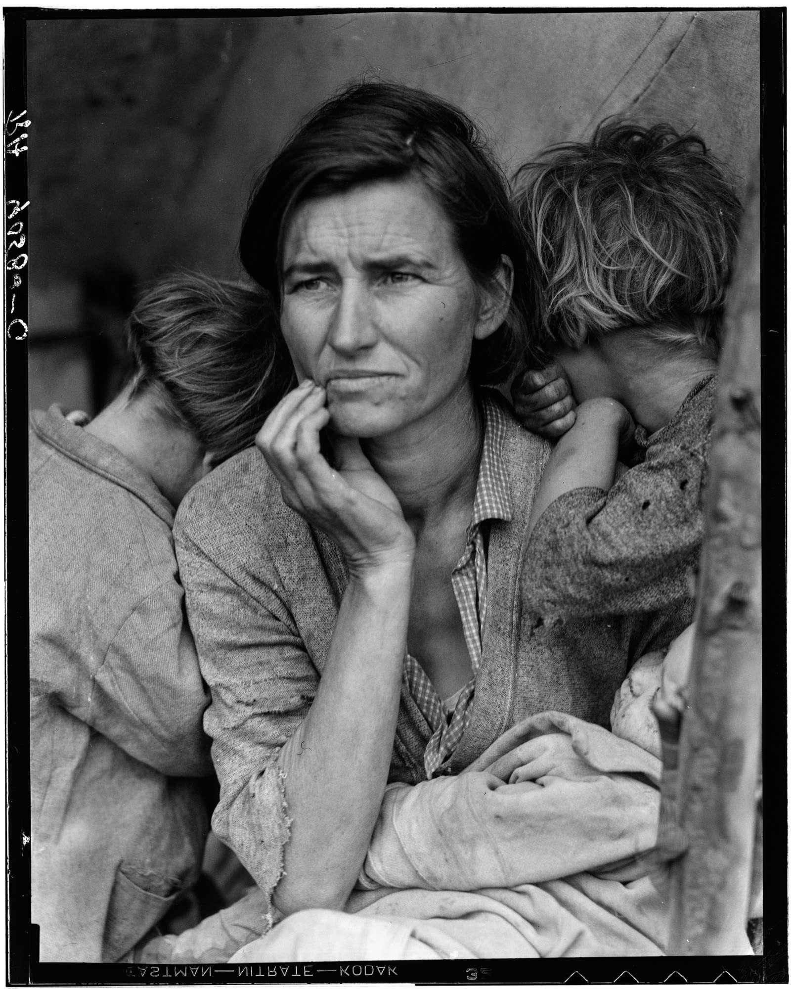 Dorothea Lange - FSA - 1936 - Migrant workers